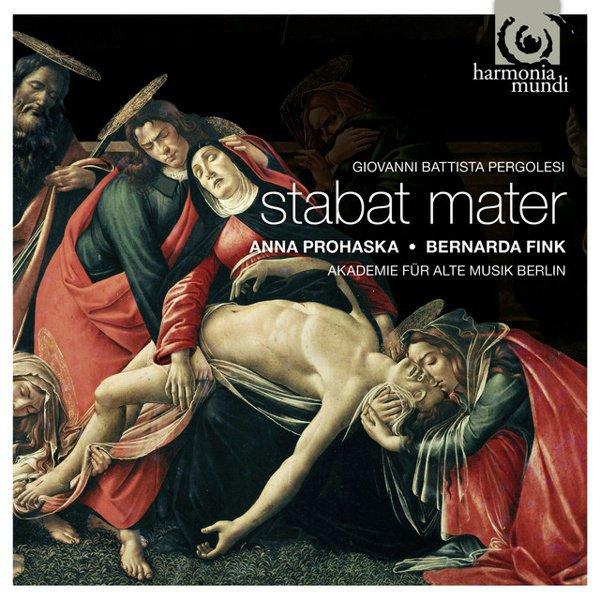 Giovanni Battista Pergolesi: Stabat Mater album cover