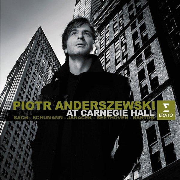 Piotr Anderszewski at Carnegie Hall album cover