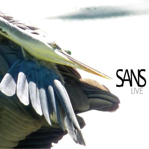 Sans Live album cover