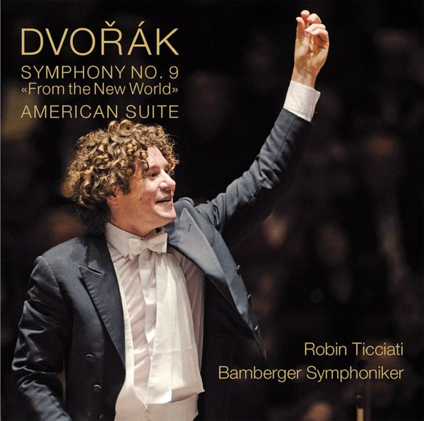 "Dvorák: Symphony No. 9 ""From the New World""; American Suite album cover"
