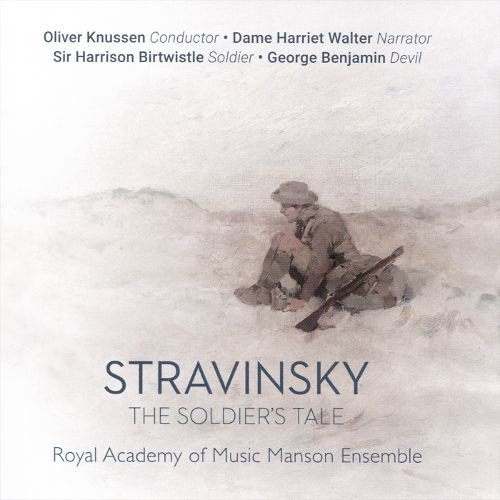 Stravinsky: The Soldier's Tale album cover