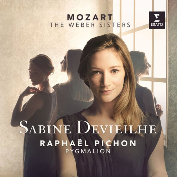 Mozart: The Weber Sisters album cover