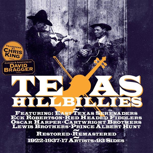 Texas Hillbillies 1922-1937 album cover