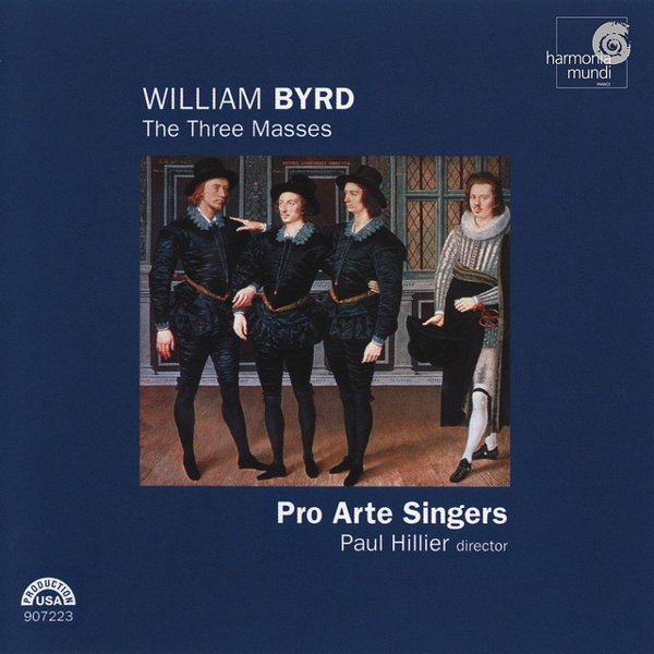 William Byrd: The Three Masses album cover