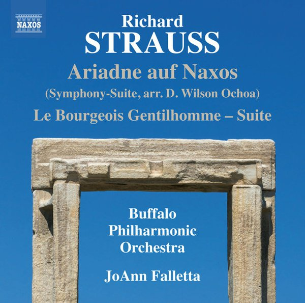 Richard Strauss: Ariadne auf Naxos (Symphony-Suite); Le Bourgeois Gentilhomme - Suite album cover