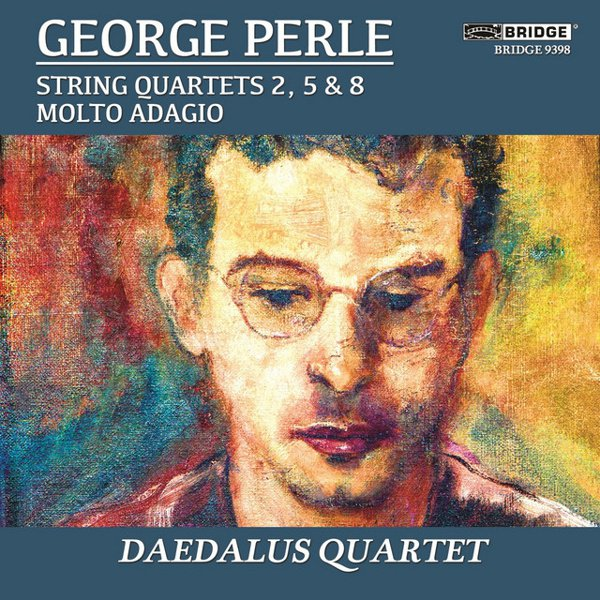 George Perle: The String Quartets, Vol. 1 album cover