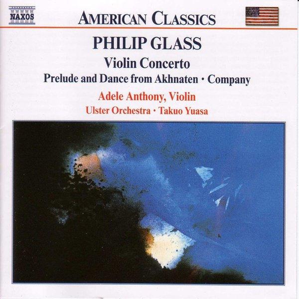 Glass: Violin Concerto album cover