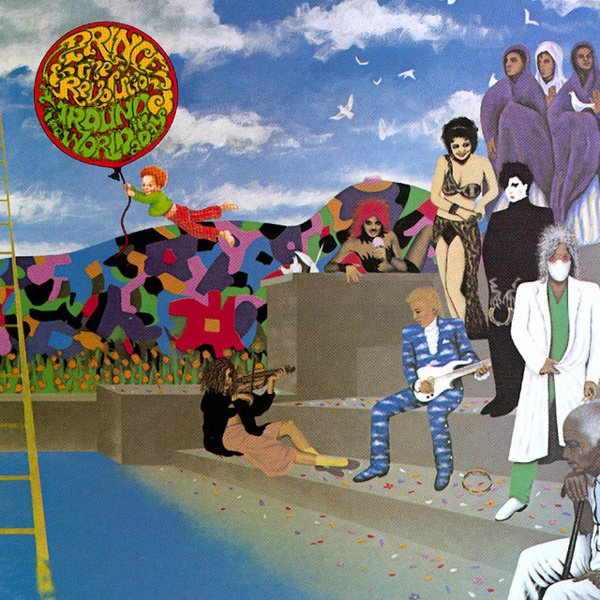 Around the World in a Day album cover