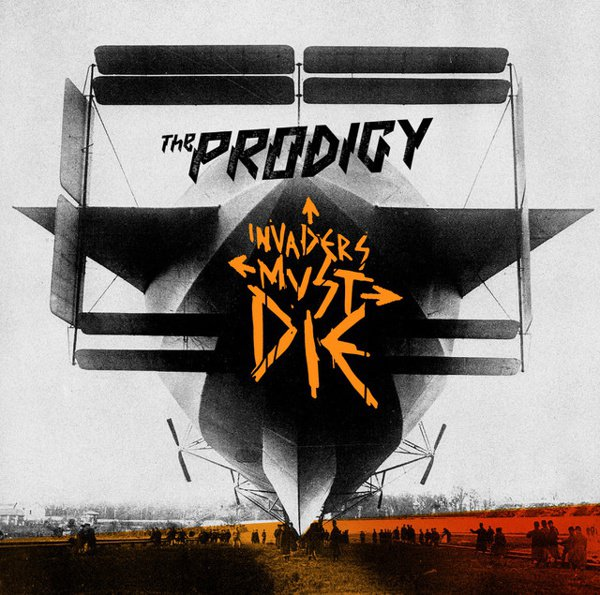 Invaders Must Die album cover