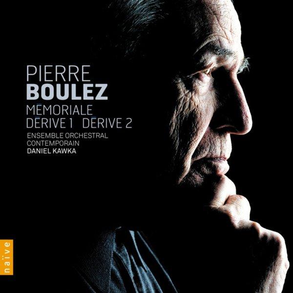 Pierre Boulez: Memoriale; Derive 1; Derive 2 album cover