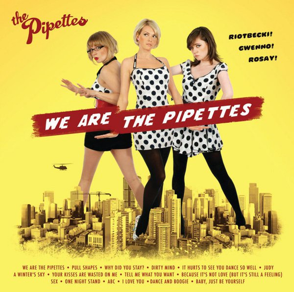We Are the Pipettes album cover