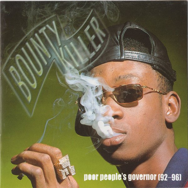 Bounty Killer Poor People's Governor 92-96 album cover