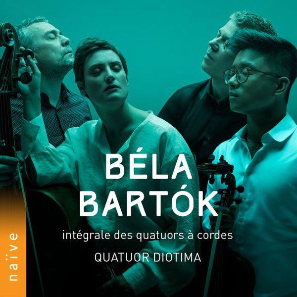 Béla Bartók: Intégrale des quatuors à Cordes album cover