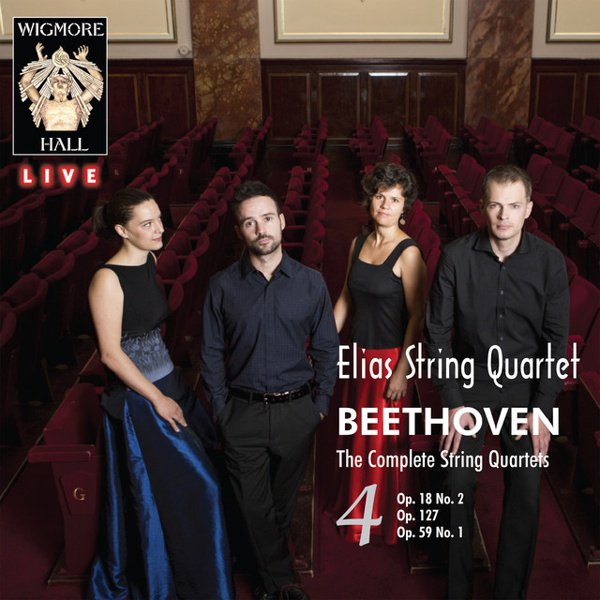Beethoven: The Complete String Quartets, Vol. 4 album cover