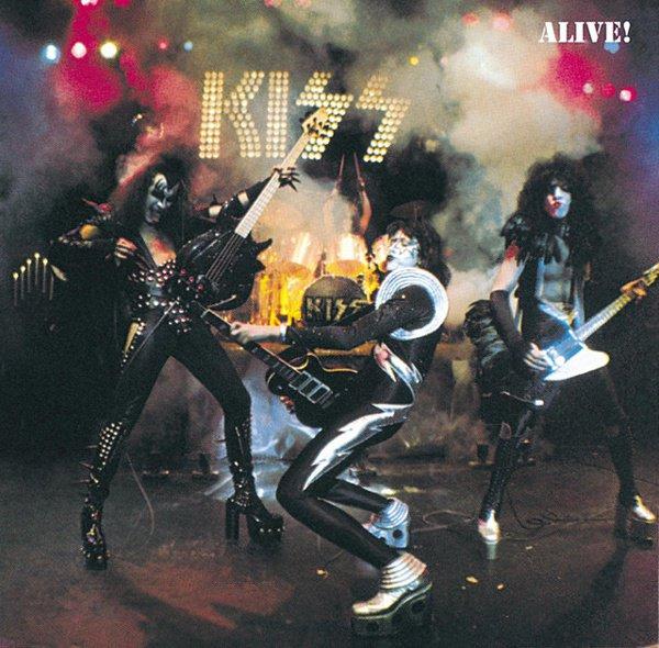 Alive! album cover