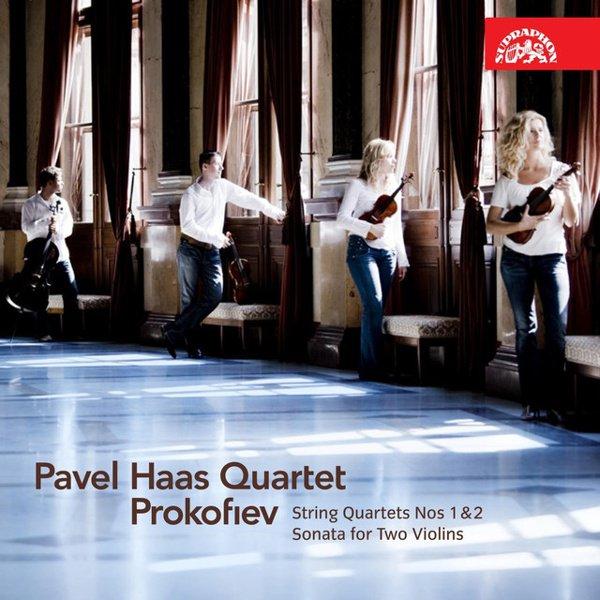 Prokofiev: String Quartets Nos. 1 & 2; Sonata for 2 Violins album cover