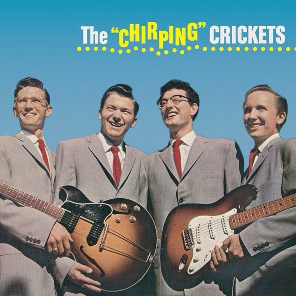 """The """"Chirping"""" Crickets album cover"""