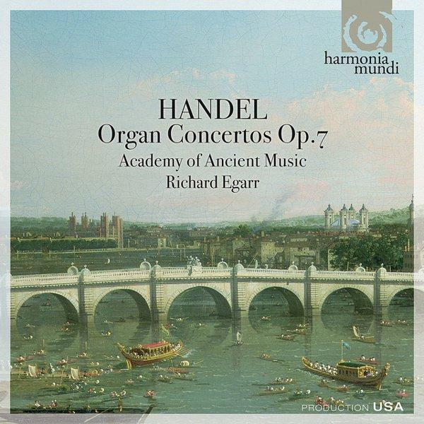 Handel: Organ Concertos, Op. 7 album cover