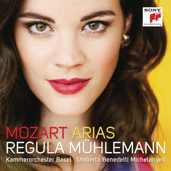 Mozart Arias album cover