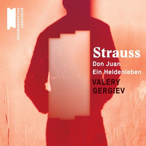 Strauss: Don Juan; Ein Heldenleben album cover