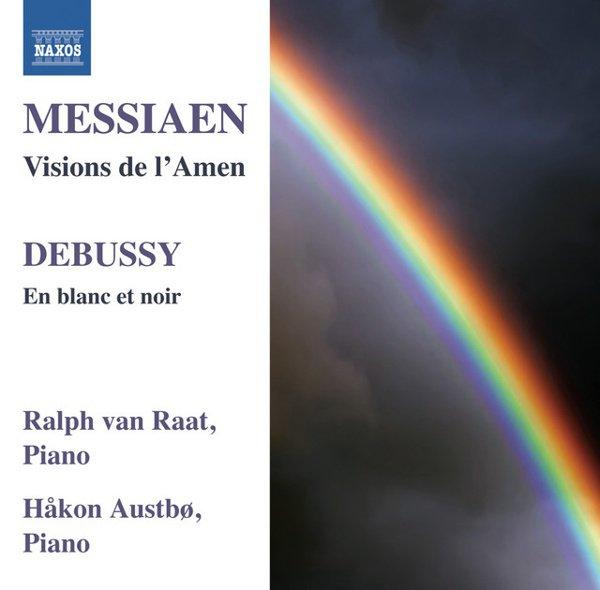 Messiaen: Visions de l'Amen; Debussy: En blanc et noir album cover