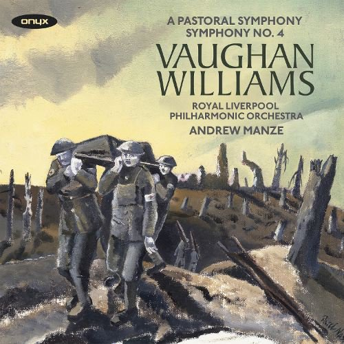 Vaughan Williams: A Pastoral Symphony; Symphony No. 4 album cover