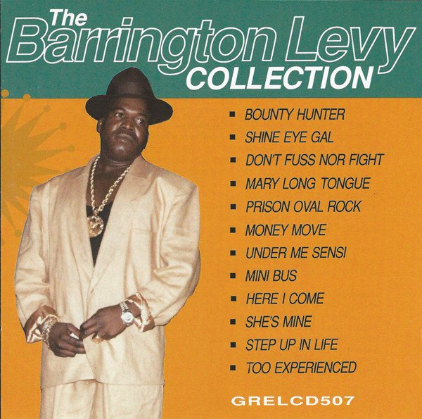 The Barrington Levy Collection album cover