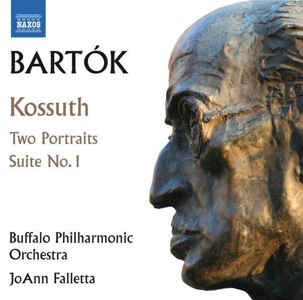 Bartók: Kossuth; Two Portraits; Suite No. 1 album cover