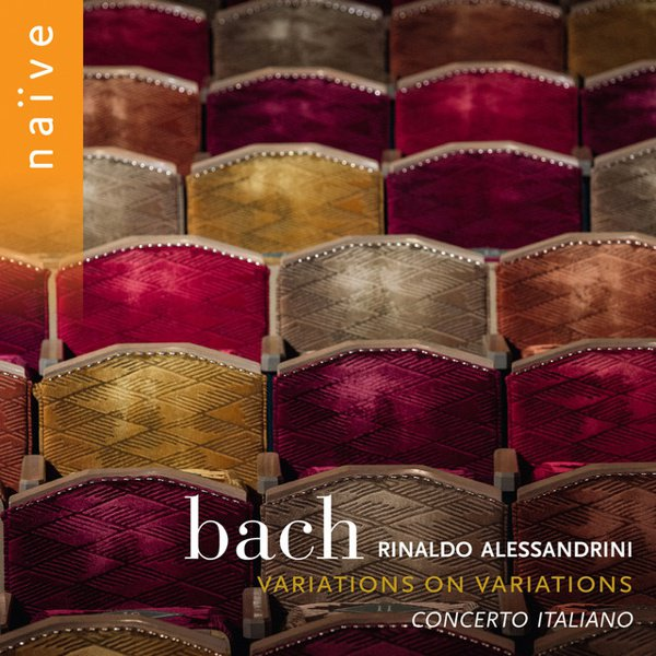 Bach: Variations on Variations album cover