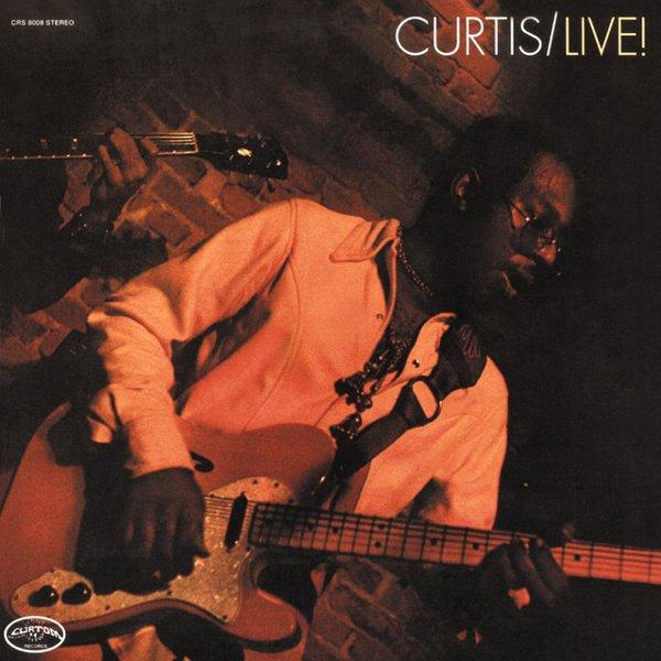 Curtis Live! album cover