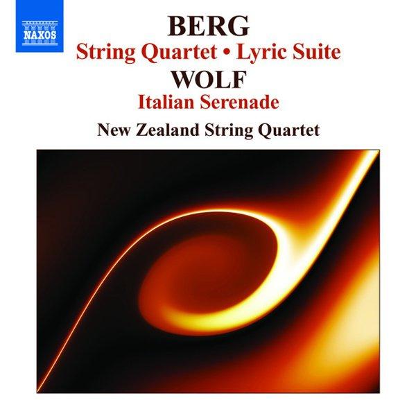 Berg: String Quartet; Lyric Suite; Wolf: Italian Serenade album cover