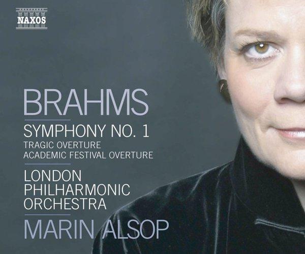 Brahms: Symphony No. 1; Academic Festival Overture; Tragic Overture album cover