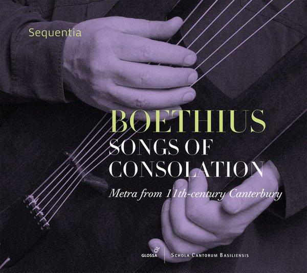 Boethius: Songs of Consolation - Metra from 11th-century Canterbury album cover