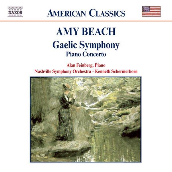 """Amy Beach: """"Gaelic"""" Symphony; Piano Concerto album cover"""