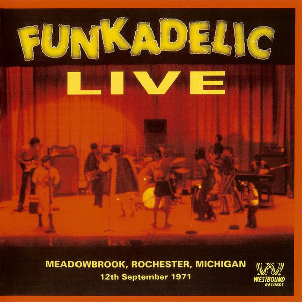 Live at Meadowbrook, Rochester, Michigan 12th September 1971 album cover