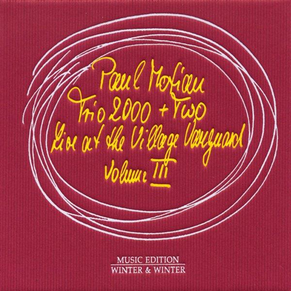 Live at the Village Vanguard, Vol. 3 album cover