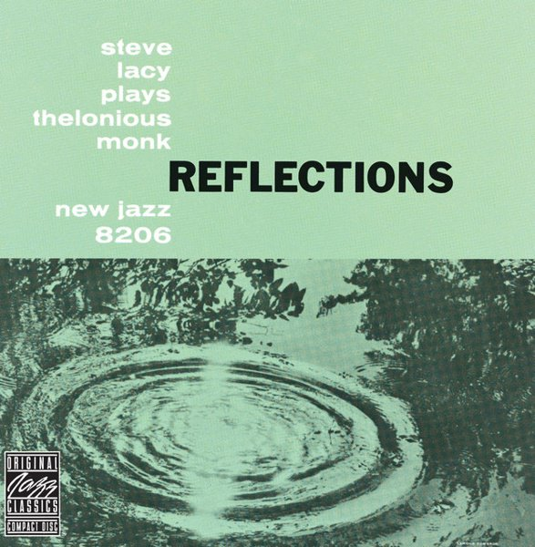 Reflections: Steve Lacy Plays Thelonious Monk album cover