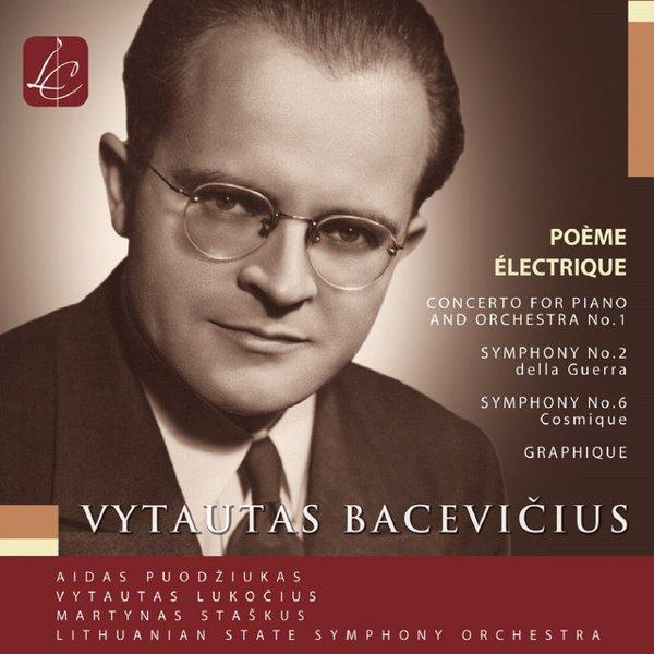 Vytautas Bacevicius: Orchestral Music album cover