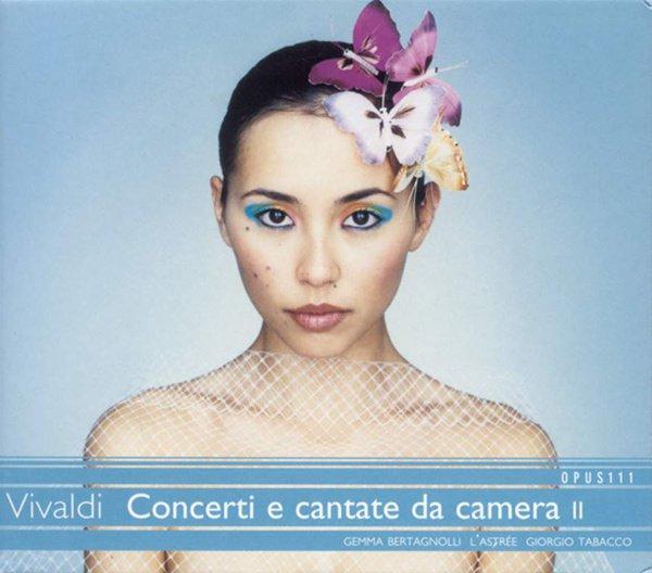Vivaldi: Concerti e cantate da camera, Vol. 2 album cover