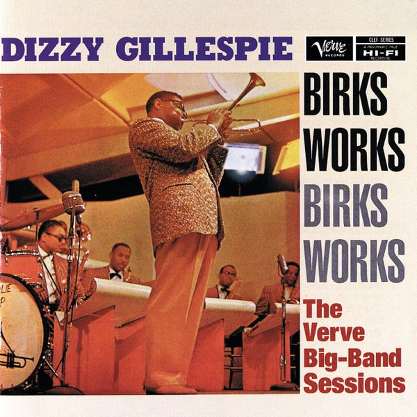 Birks Works:  The Verve Big-Band Sessions album cover