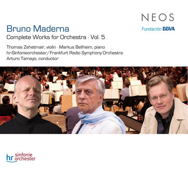 Bruno Maderna: Complete Works for Orchestra, Vol. 5 album cover