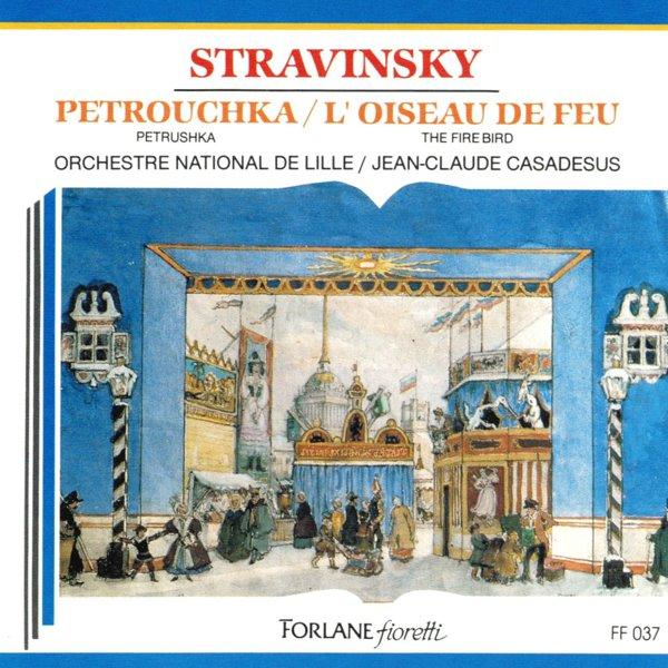 Stravinsky: Petrouchka — L'Oiseu de Feu album cover