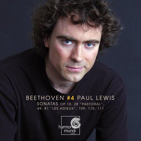 Beethoven: Piano Sonatas, Vol. 4 album cover
