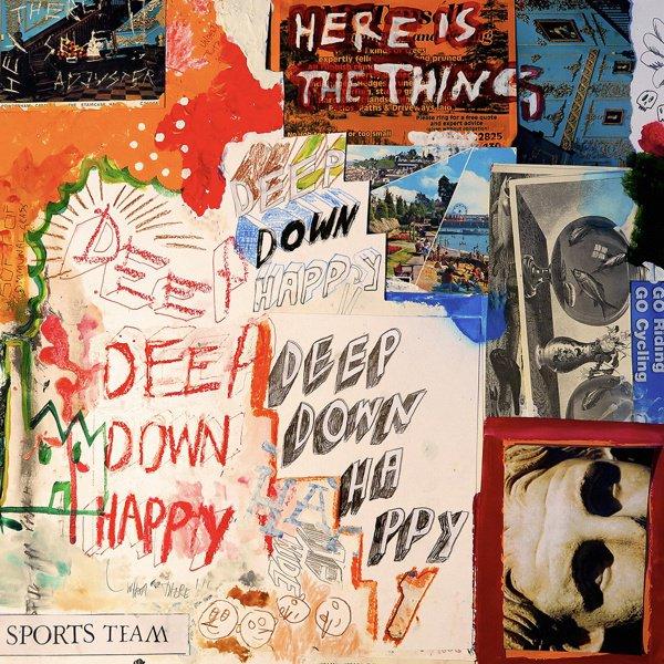 Deep Down Happy album cover