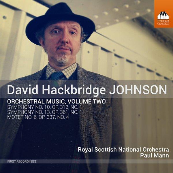 David Hackbridge Johnson: Orchestral Music, Vol. 2 album cover