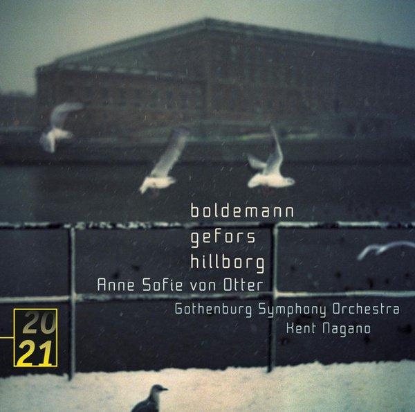 Boldemann, Gefors, Hillborg album cover
