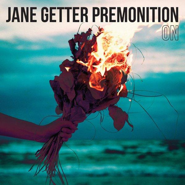 On album cover