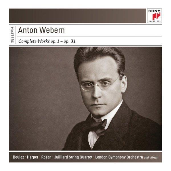 Anton Webern: Complete Works album cover