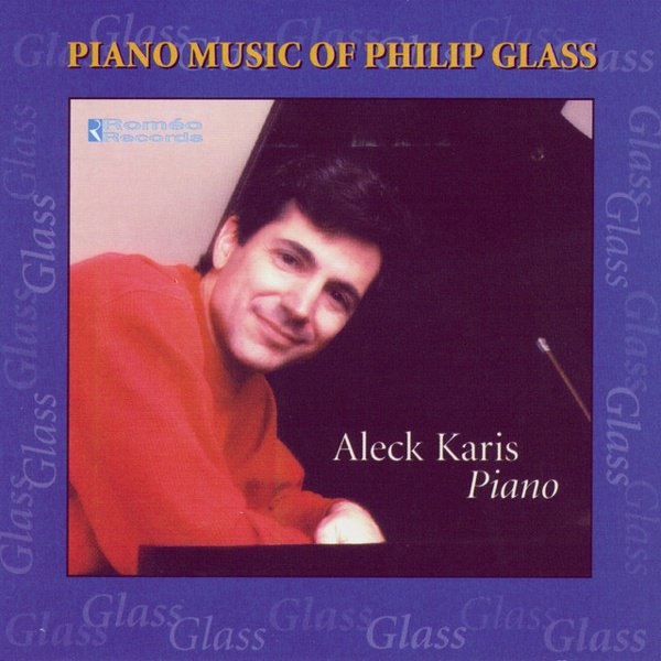 Piano Music of Philip Glass album cover