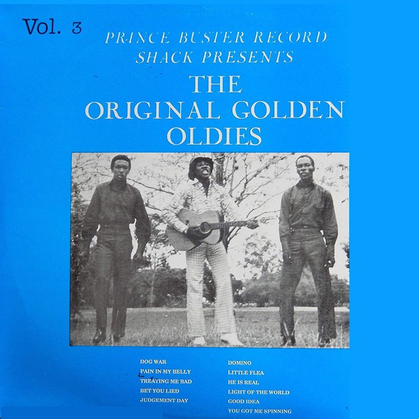 Prince Buster Record Shack Presents The Original Golden Oldies Vol.3 Featuring The Maytals album cover